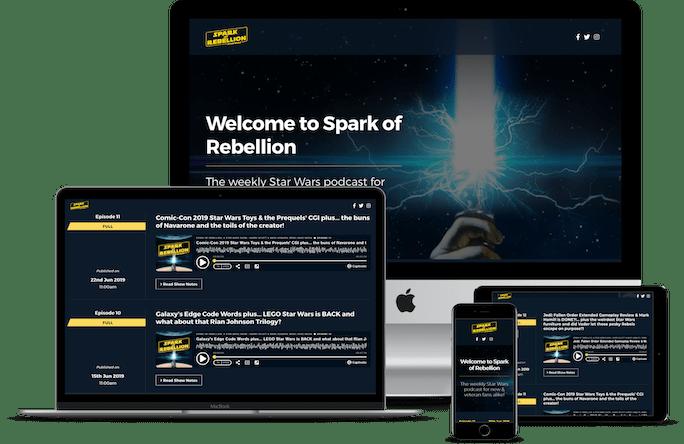 Captivate website examples